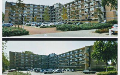 Schilderwerk VvE Zonnebloemstraat 48-154 te Katwijk